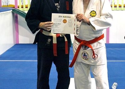 Shihan St. Hilaire 7th dan Promotion 2010