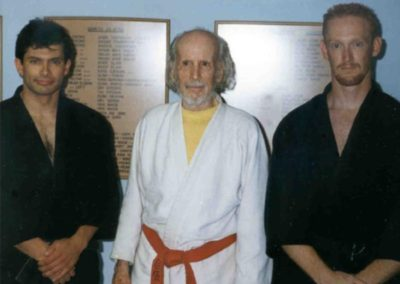 Hanshi Moore with Sensei Joe and Sensei Russ